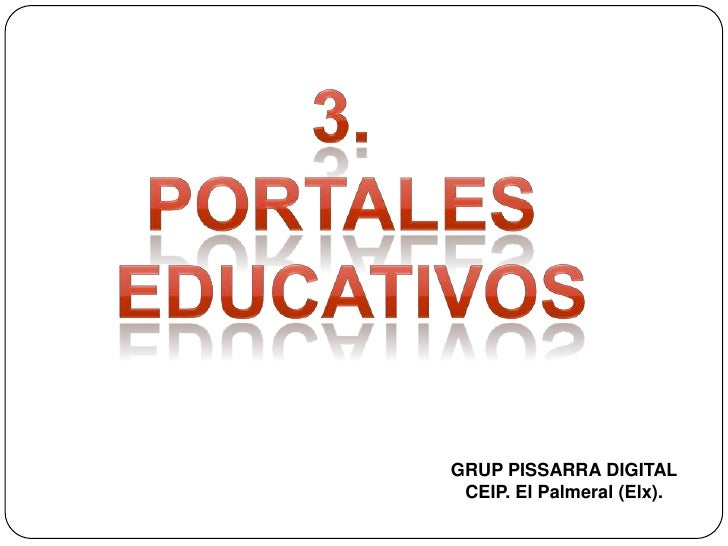 3. portales educativos