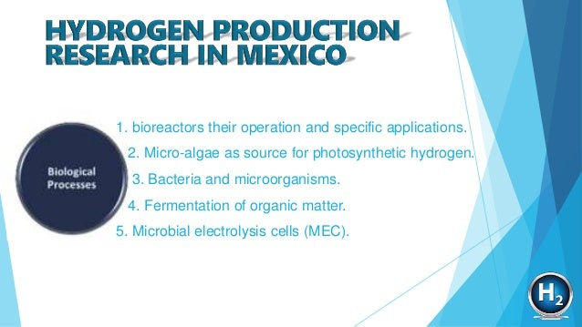 Hydrogen production research in Mexico: A review