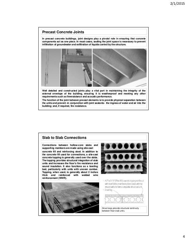 Precast-concrete Details