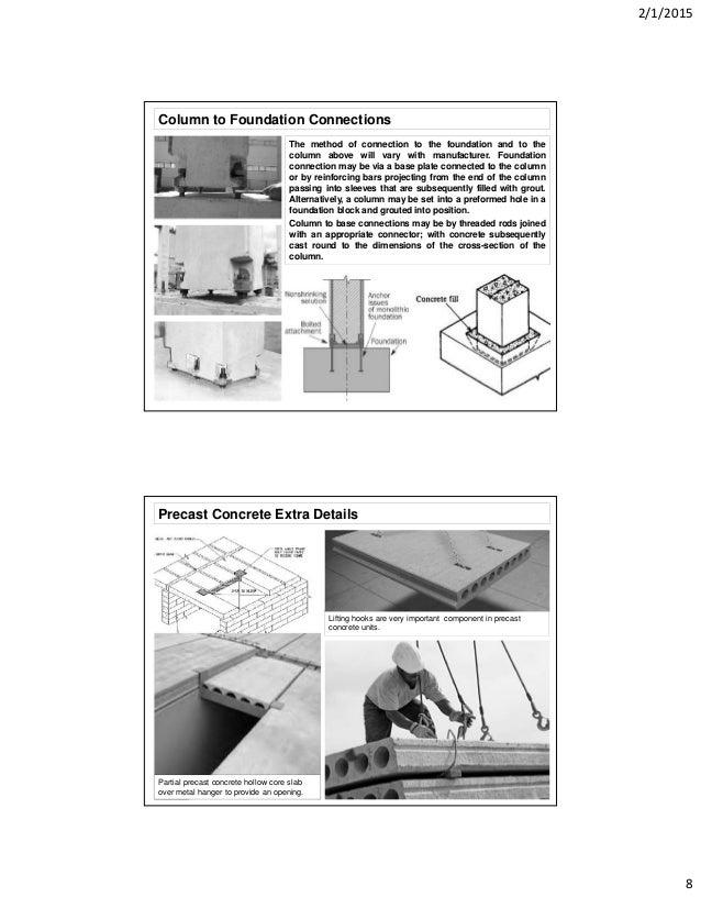 precast concrete details. Black Bedroom Furniture Sets. Home Design Ideas