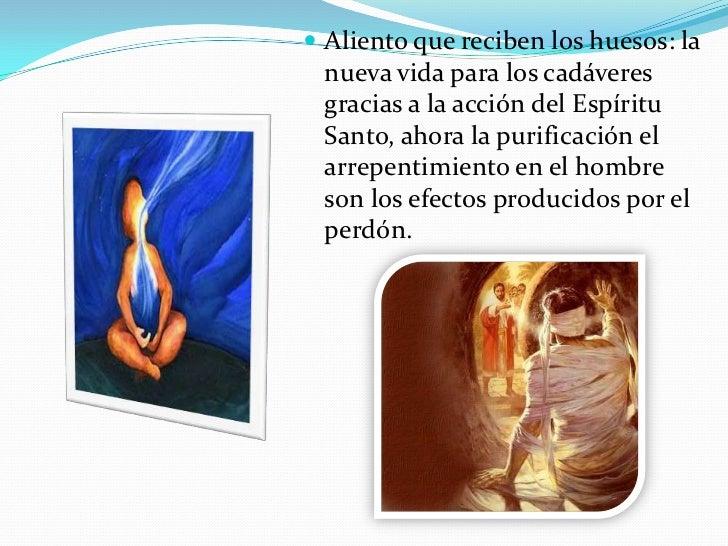 Aliento que reciben los huesos: la nueva vida para los cadáveres gracias a la acción del Espíritu Santo, ahora la purifica...