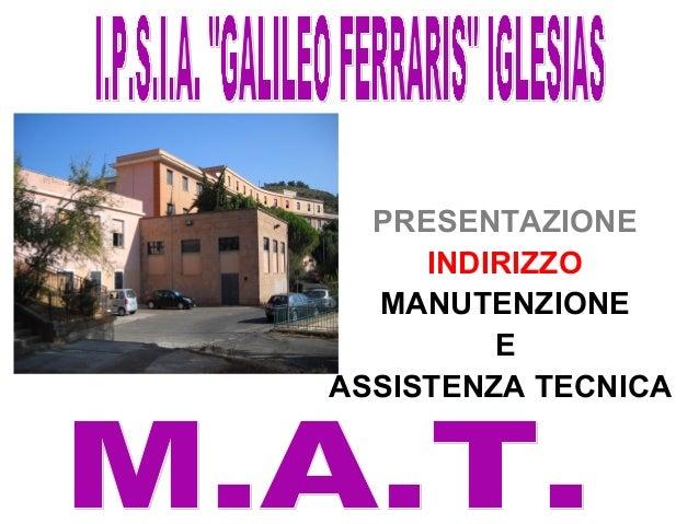 presentazione corso MAT Slide 2