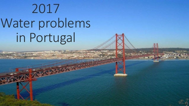 2017 Water problems in Portugal