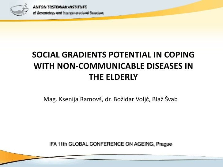 ANTON TRSTENJAK INSTITUTE           IFA 11TH GLOBAL CONFERENCE ON AGEINGof Gerontology and Intergenerational Relations    ...