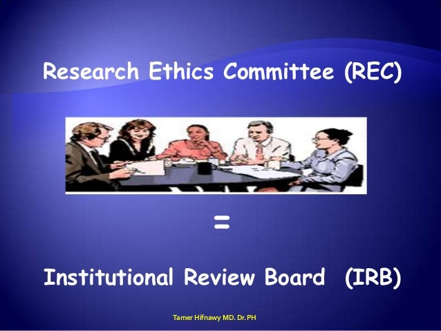 Dissertation studies with institutional review board