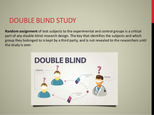 Double blind - ScienceDaily