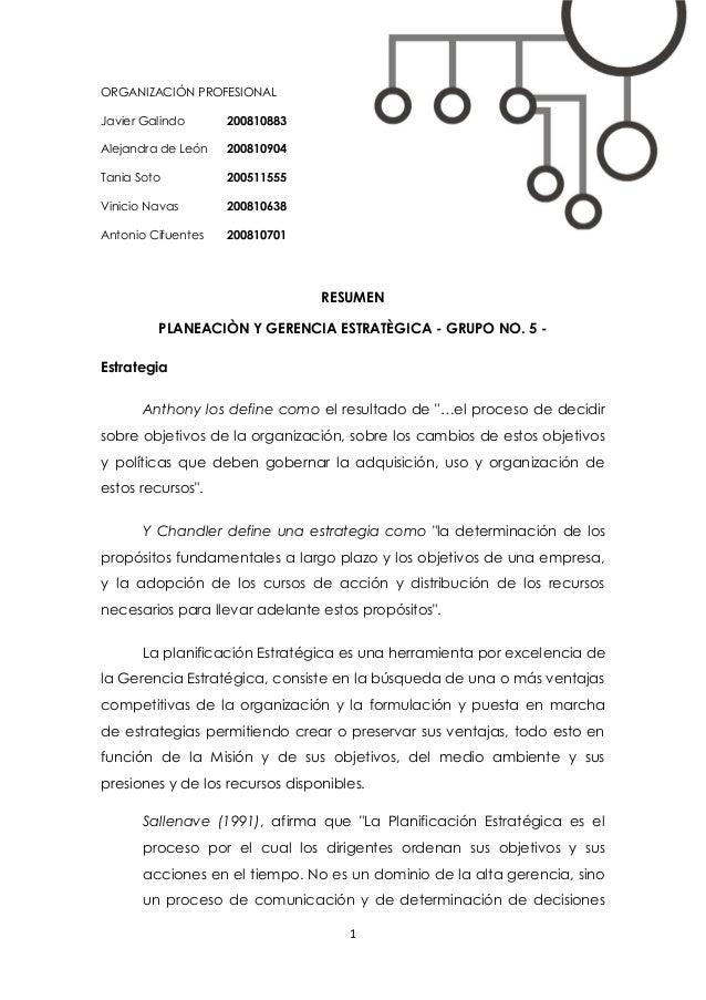 1 ORGANIZACIÓN PROFESIONAL Javier Galindo 200810883 Alejandra de León 200810904 Tania Soto 200511555 Vinicio Navas 2008106...