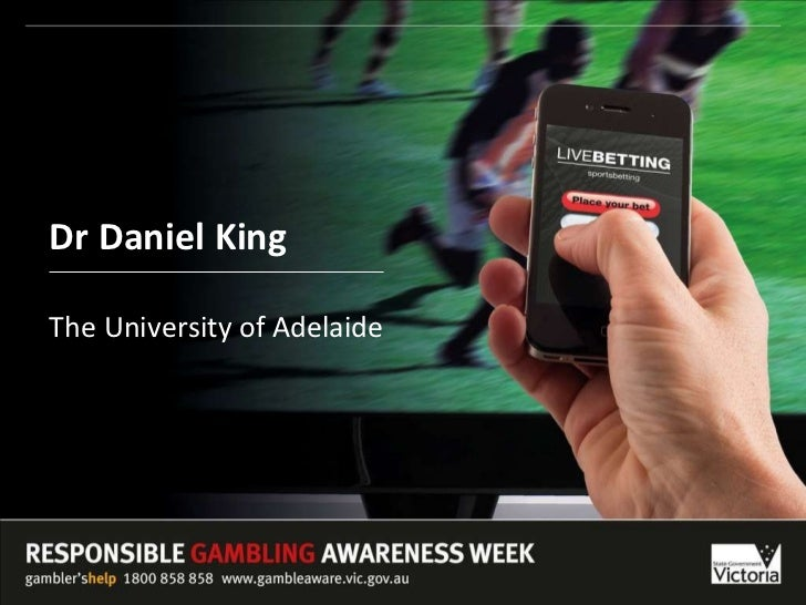 Dr Daniel King The University of Adelaide