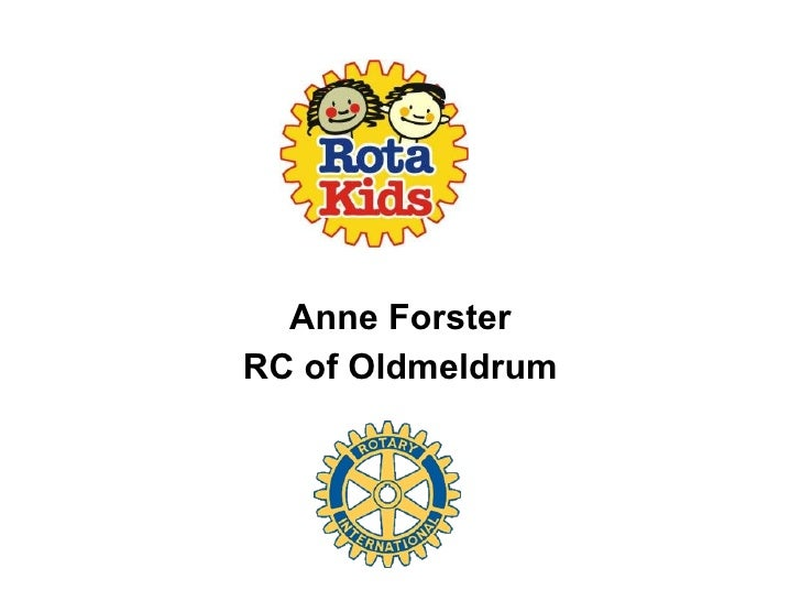 Anne Forster RC of Oldmeldrum