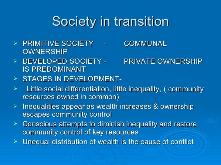 unequal distribution of resources in society We are a highly unequal society,  five causes of inequality  they want to use resources with no environmental controls and they want to give companies the.