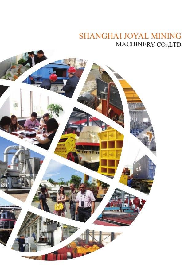 SHANGHAI JOYAL MINING MACHINERY CO.,LTD