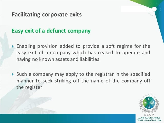 meaning of defunct company