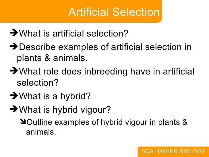 3 Selection Speciation