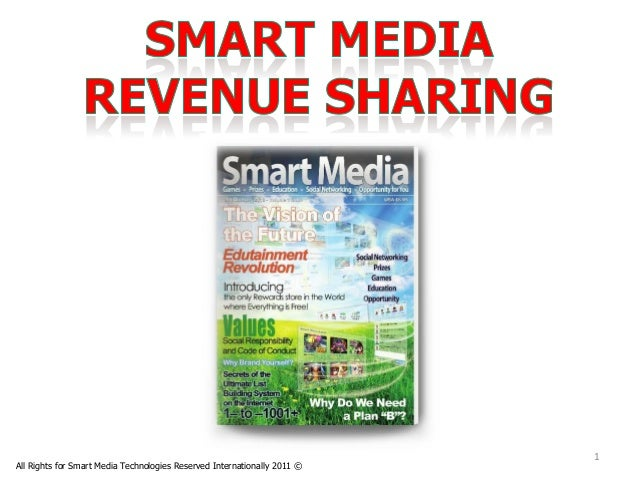 1All Rights for Smart Media Technologies Reserved Internationally 2011 ©