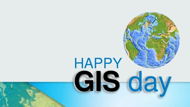 GIS day HAPPY