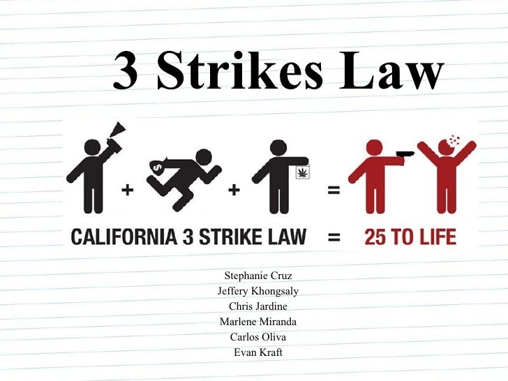 Image result for 3 strikes law\