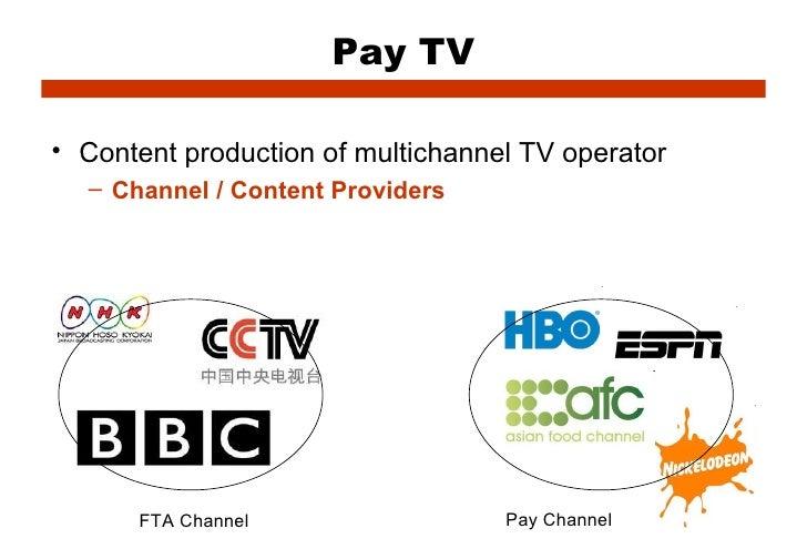 Struktur Organisasi (FTA & Pay TV)