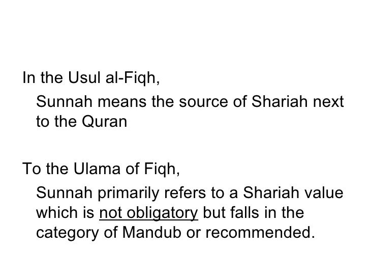 3 Sunnah