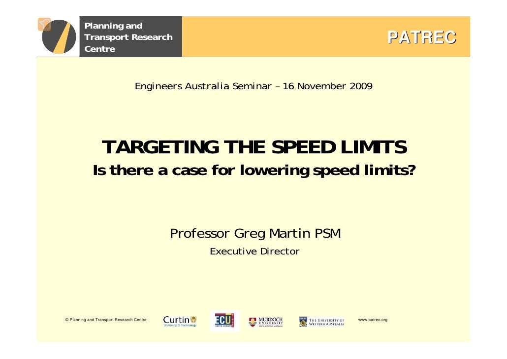 Planning and          Transport Research                                                               PATREC          Cen...