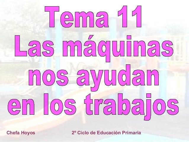 Chefa Hoyos  2º Ciclo de Educación Primaria