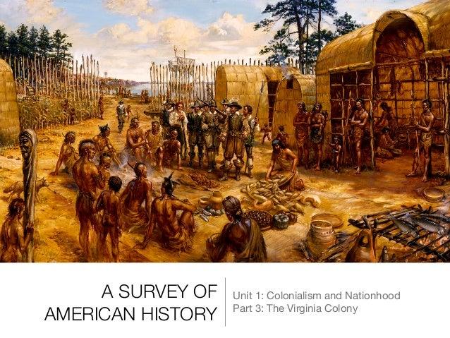 3 The Virginia Colony