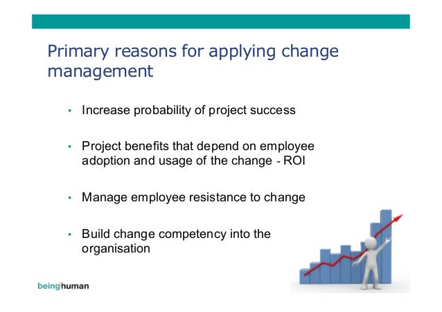 reasons for change management pdf
