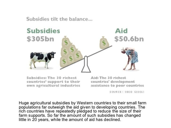 agricultural subsidies and development Wto, agricultural subsidies and development strathmore university presentation dr reid e whitlock nairobi, kenya january 2006 wto meetings in hong kong 18.