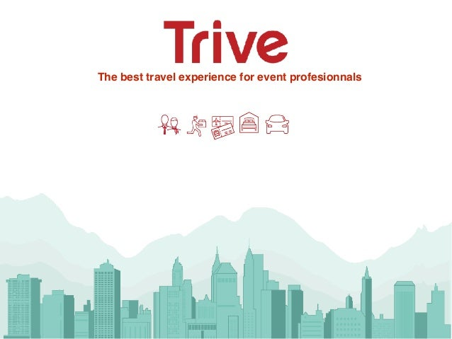 The best travel experience for event profesionnals