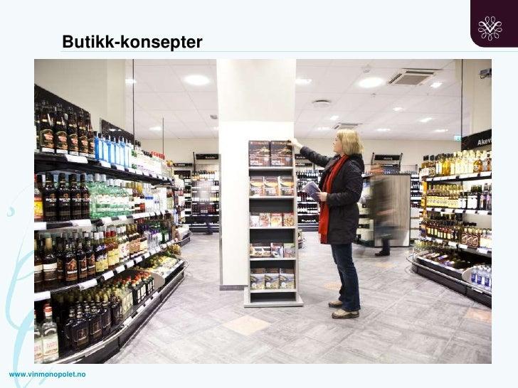 Butikk-konsepter<br />www.vinmonopolet.no<br />