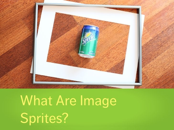 What Are Image Sprites?