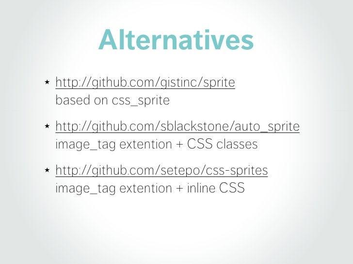 Rails 3.1 > Integrated Spriting CSS_Sprite > better <img> Lemonade > Easy Sprites