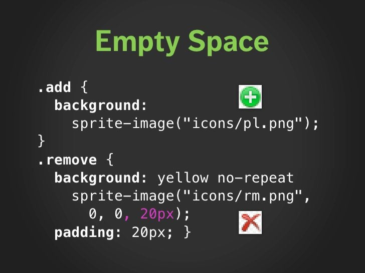 """Sprite Generation ★   Sprite image named by directory:     """"icons/*.png"""" > """"icons.png""""  ★   Background position added only..."""