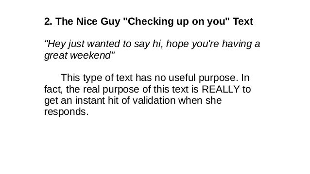 how to say hey to a girl over text