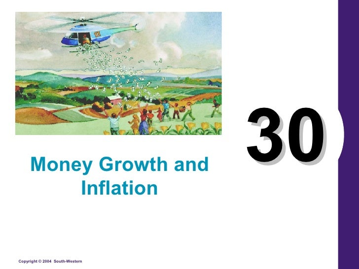 30 Money Growth and Inflation
