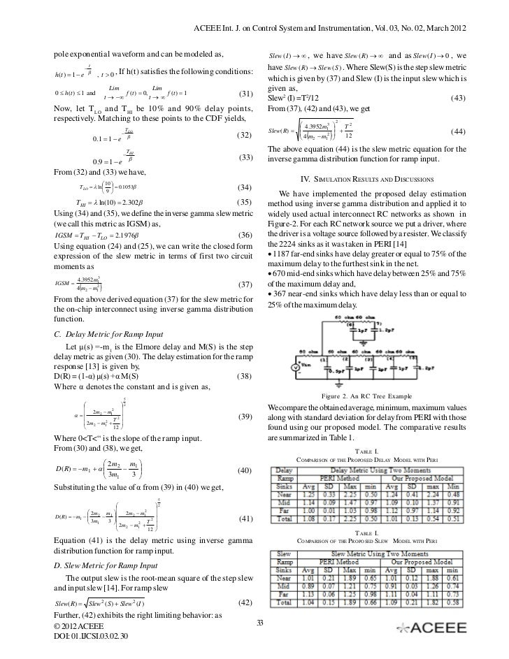 Inverse Gamma Distribution based Delay and Slew Modeling for
