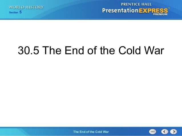 Section 5The End of the Cold War30.5 The End of the Cold War