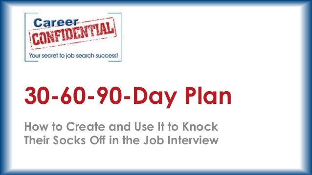30 60 90 day plan format, Powerpoint templates