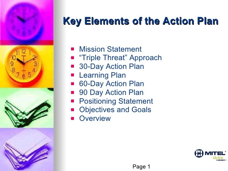 30.60.90 action plan (patrick gross) with animation
