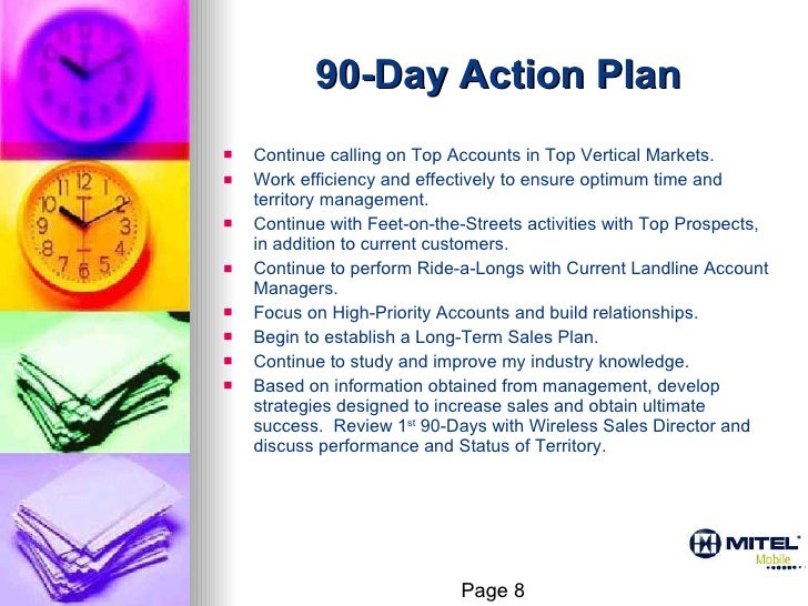 90 day action plan