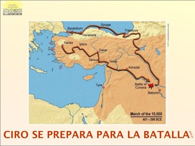 CIRO SE PREPARA PARA LA BATALLA MAPA:UNMUNDODECINE CLARA ÁLVAREZ 2013/14