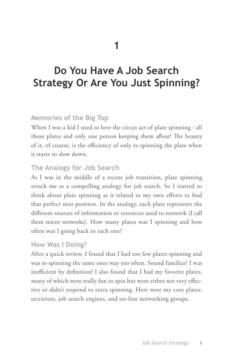 30 ideas of successful job search job search strategy 9