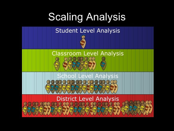 Data analysis in schools