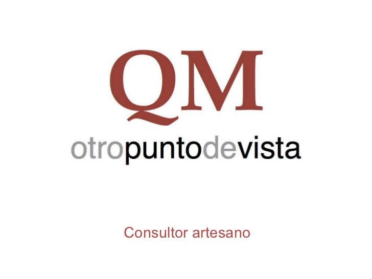 <ul>Consultor artesano </ul>