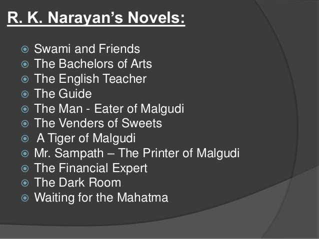 toasted english by r k narayan Semester iii title fiction ii course core 5  toasted english-rk narayan work brings solace-apj abdul kalam unit ii the night the bed fell-james thurber.