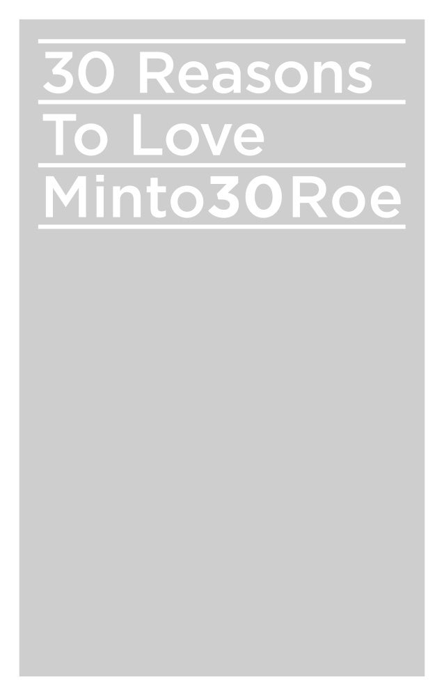 No.1 Fabulous condominium living at Yonge & Eglinton.Minto30Roe is too good to be true. This is a lifestyle for the young,...