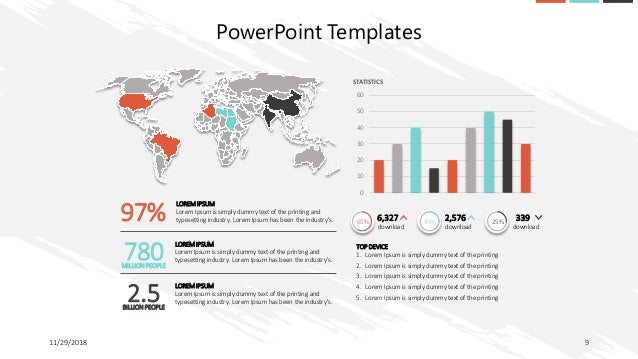 30 Slide Corporate Template Pack Free Download