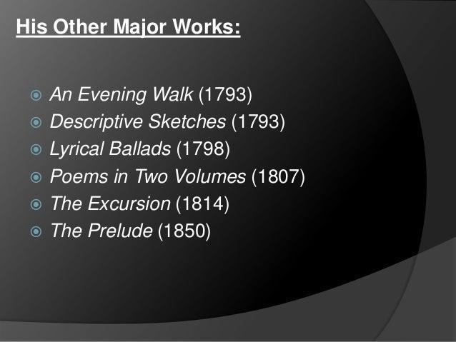 wordsworth essay supplementary