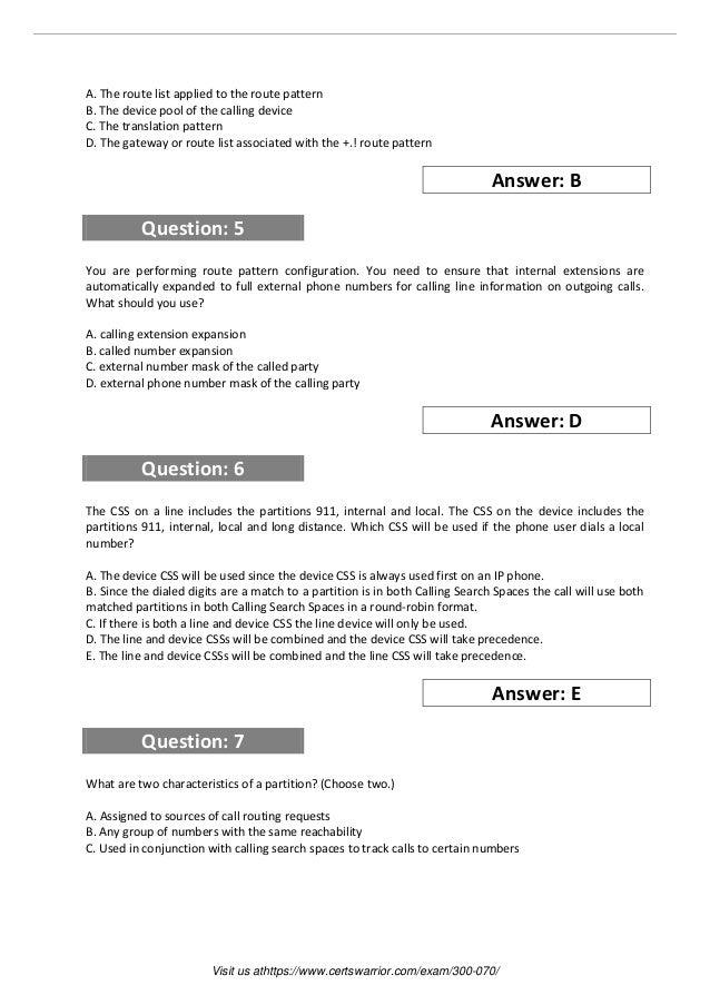 300 070 exam practice software
