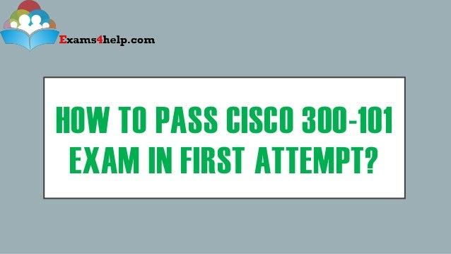 Cisco 300-101 Pdf