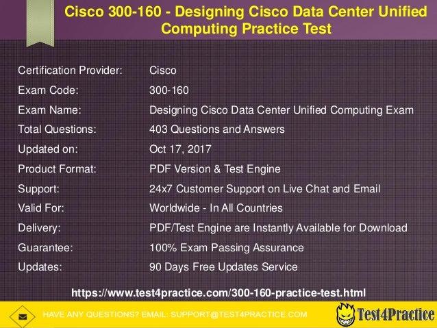 300-160 Latest Exam Simulator - Cisco 300-160 Practice Test Pdf